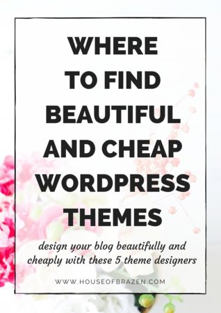 Where To Find Beautiful & Cheap Themes for WordPress
